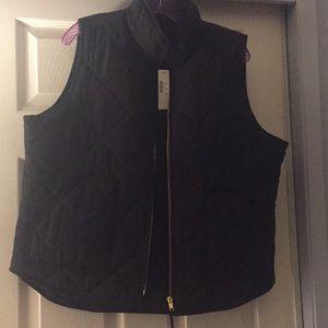 New Black  JCrew Vest